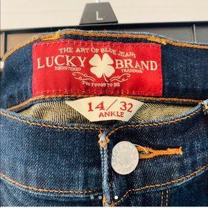 "Lucky Brand ""Sofia Straight"" Denim"